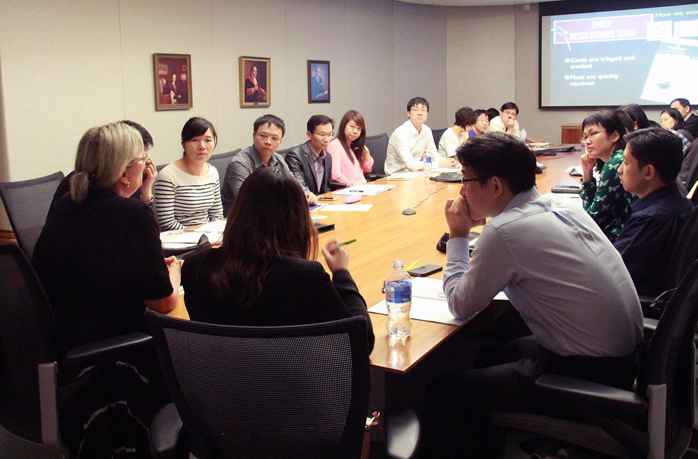 Photo de delegation de la Chine