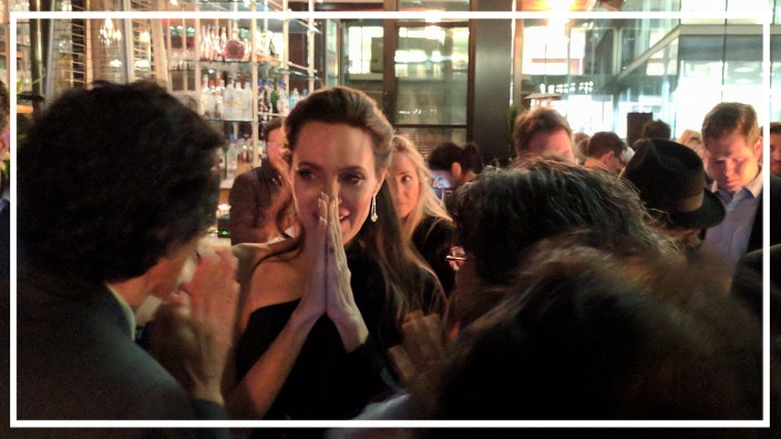 Afterparty Tiff17 avec Angeline Jolie