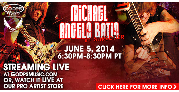 Michael Angelo Batio-Live!