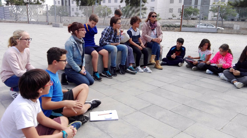Sessió Jane's Walk Ciutat Escola