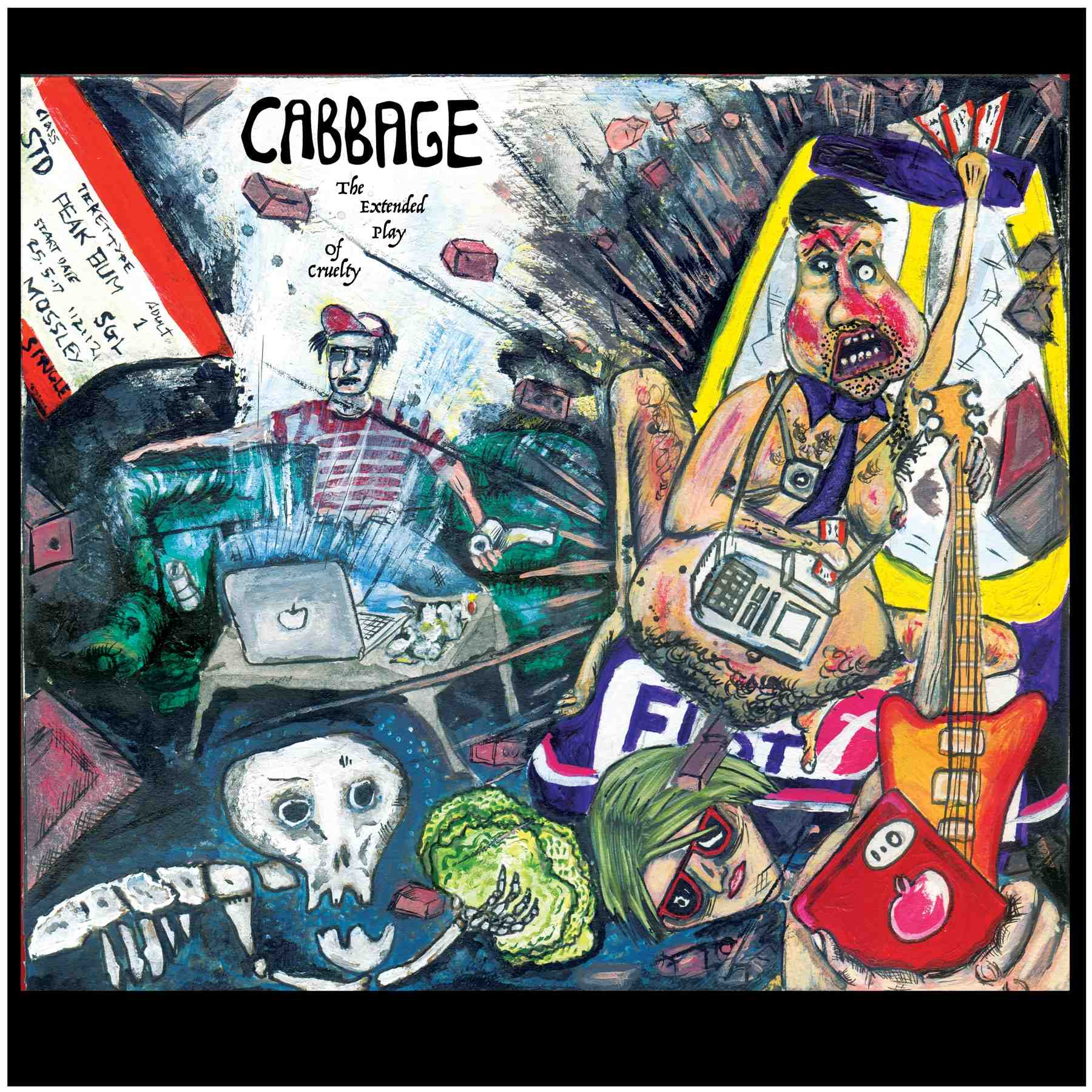 Cabbage announce new EP /festival dates and tour