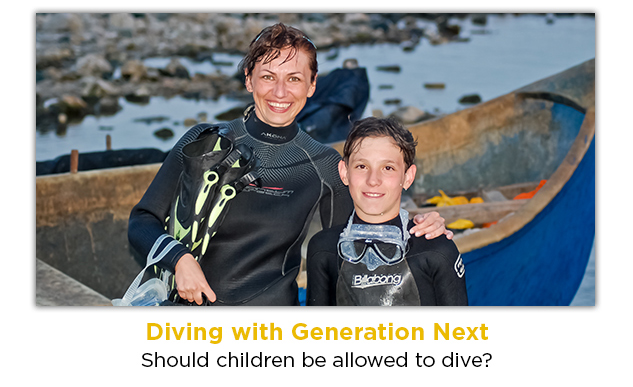 Diving with Generation Next