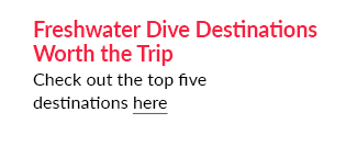 Freshwater Dive Destinations Worth the Trip - Check out the top five destinations here