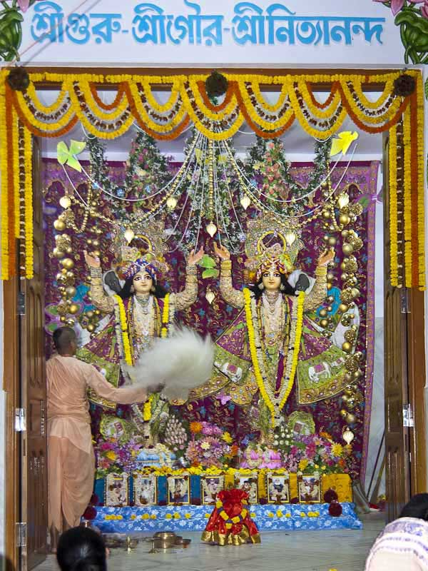 Sri Sri Gaura Nityananda in Sri Ekachakra Dham