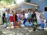 Group photo at the Ashram.