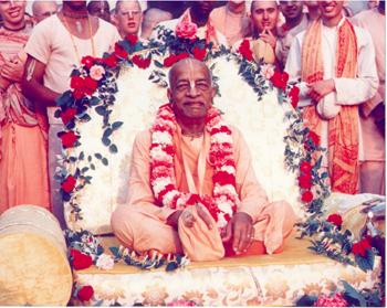 Srila Prabhupad on Vyasasan
