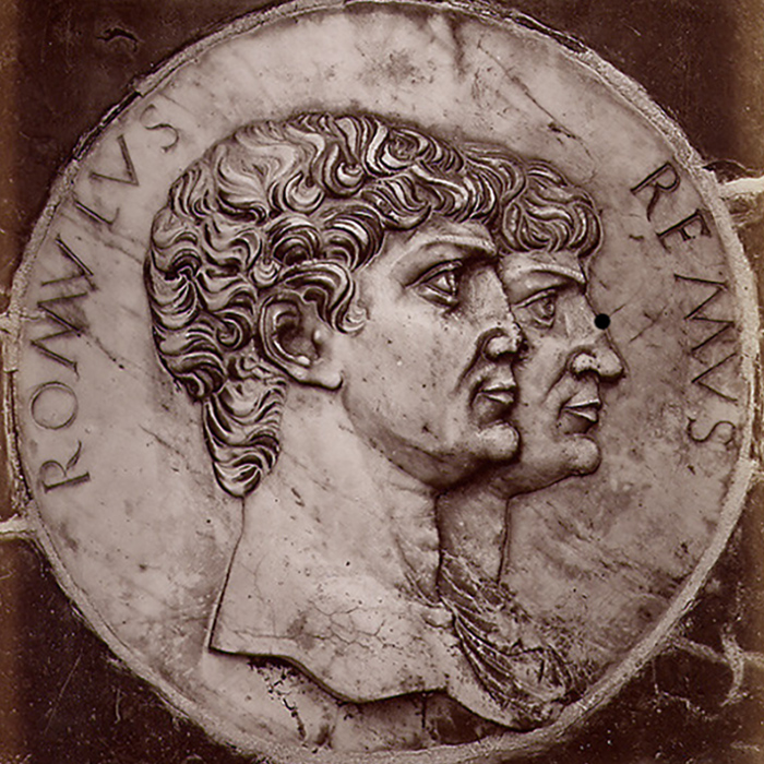 Image of Romulus and Remus coin