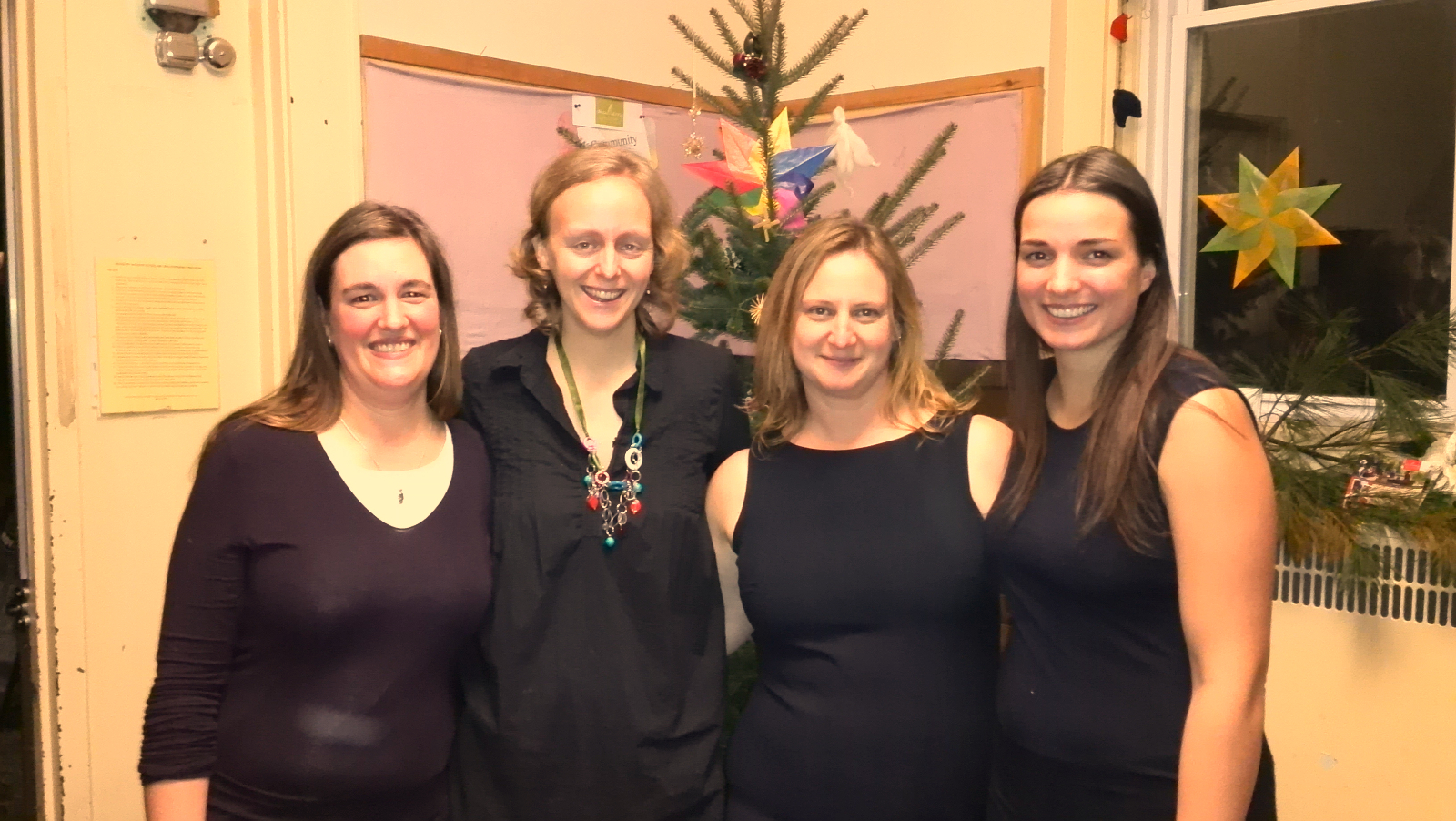 Nanette Morin, Chelsea Stelmach, Patricia Weidmark and Megan Robert