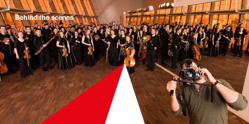 Baltic Sea Philharmonic - The Photo Shoot