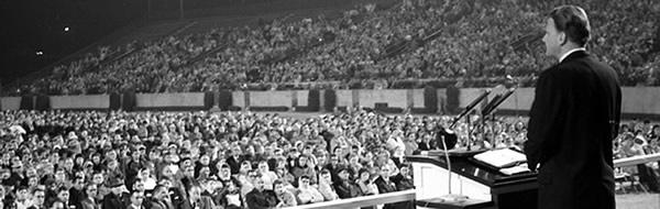 Billy Graham Speaking