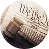 Gavel on US Constitution