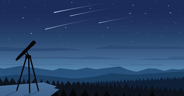 Meteorite Illustration