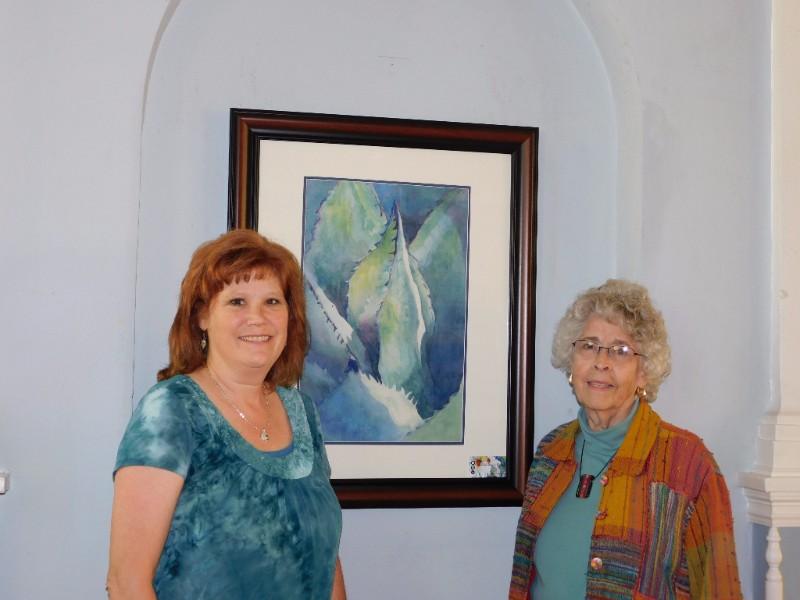 Andra Crossland and Rachel Murphree @ the Woman's Club