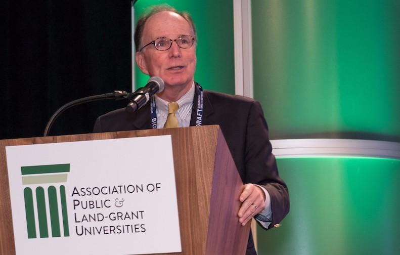 Kevin Reilly at APLU
