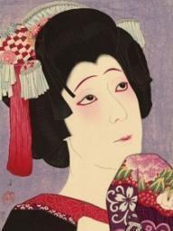 Natori Shunsen woodblock print