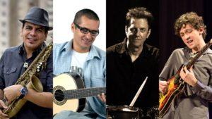 Photos of Spok, Alessandro Penezzi, Celso Alberti, and Pedro Martins