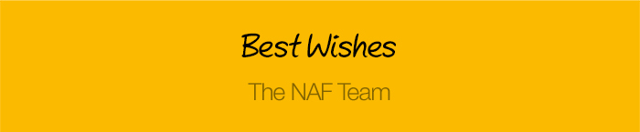 Best Wishes The NAF Team