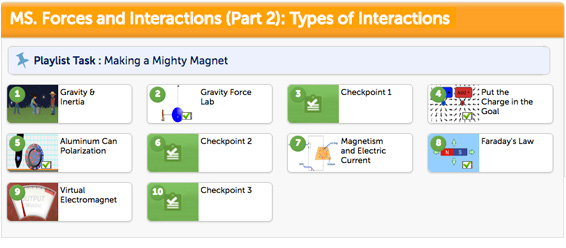 May Playlist - MS. Forces and Interactions (Part 2): Types of Interactions