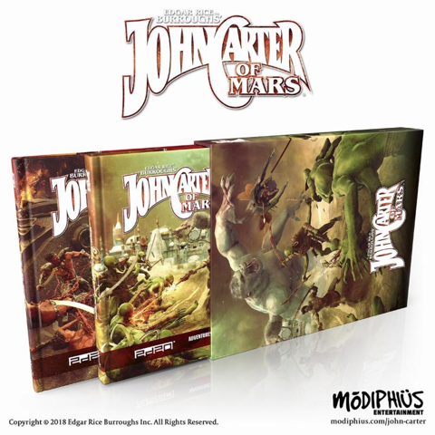 John Carter of Mars – Barsoom Roleplaying Game