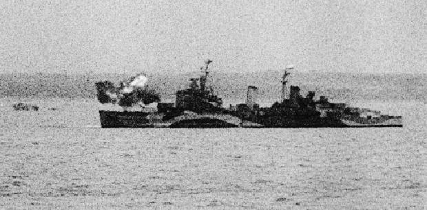 http://© IWM (IWM FLM 4015) HMS Belfast at anchor off the Normandy beachhead