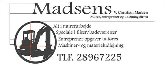 Madsens Murer, entreprenør og udlejningsfirma