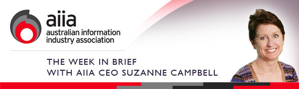 The Week in Brief with AIIA CEO Suzanne Campbell