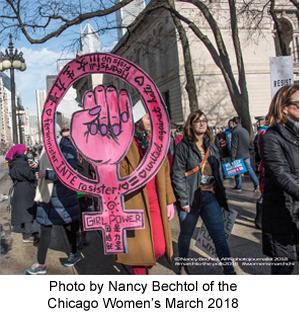 Women's March Photo by Nancy Bechtol