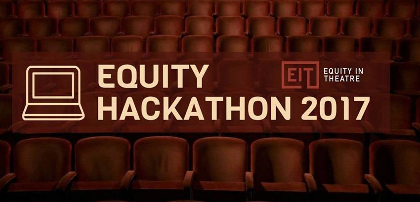Equity in Theatre Hackathon
