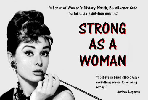 Strong As A Woman Poster
