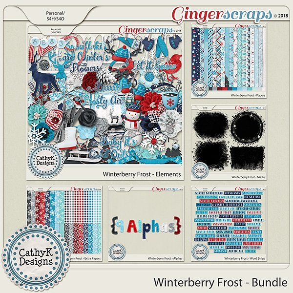 Winterberry Frost Sale and Paper Freebie