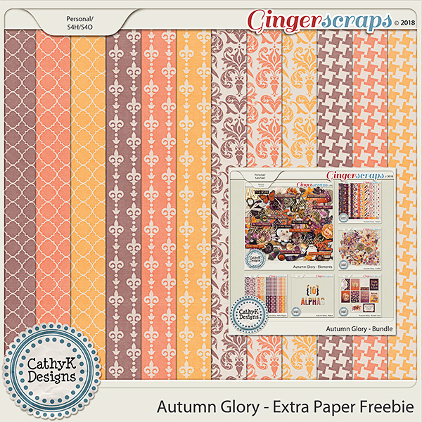 New Autumn Glory Buffet and Freebie