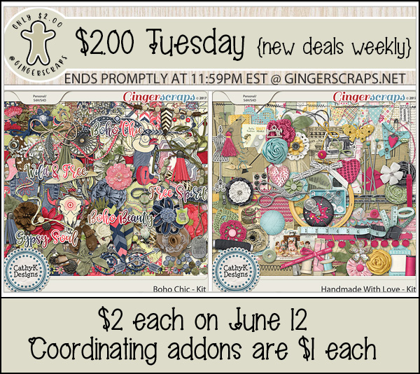 $2 Tuesday June 12