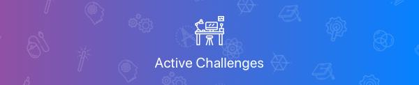 Active Challenges
