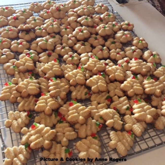 These cookies are one of Mark's favorites growing up.
