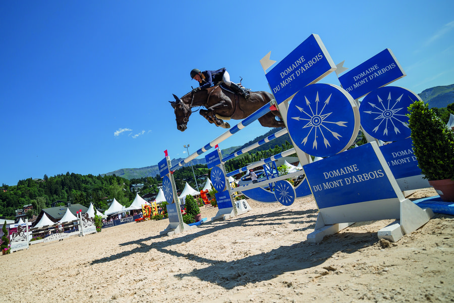 Jumping international de megève edmond rothschild