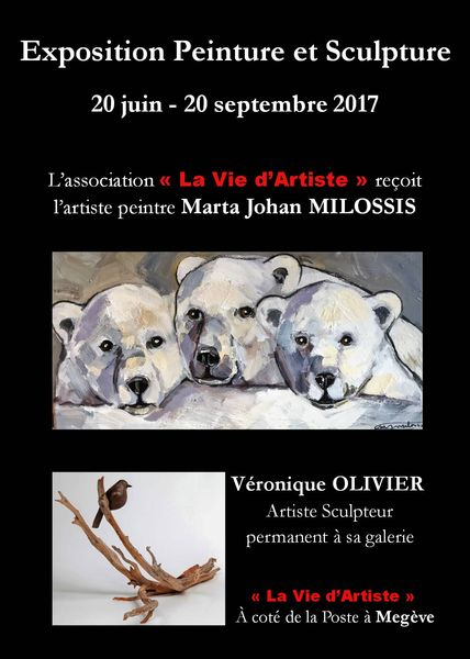 """Exposition association """"la vie d'artiste"""""""