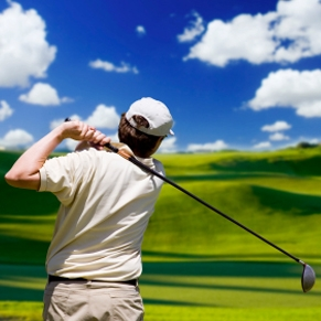 image:Golfing