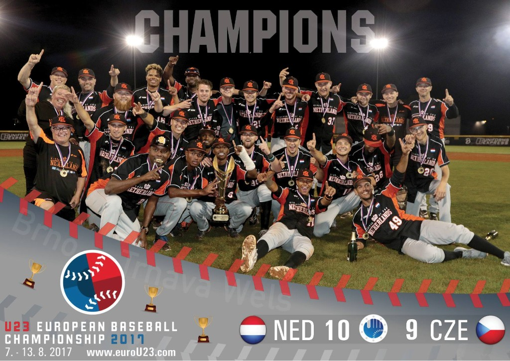 The Netherlands win the U23 Championship - Picture taken from U23 Championship Facebook Page