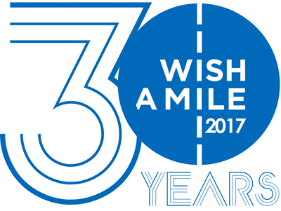 Wish A Mile 2017 30 year anniversary logo