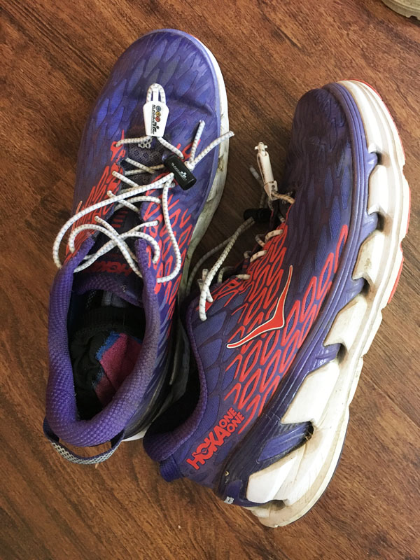 Amy Gluck's favorite Hoka running shoes