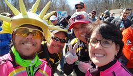 2018 Team Hometown Bicycles at Waterloo G&G Gravel Race
