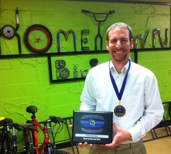 David Struble, Triathalon/Duathalon State Champion