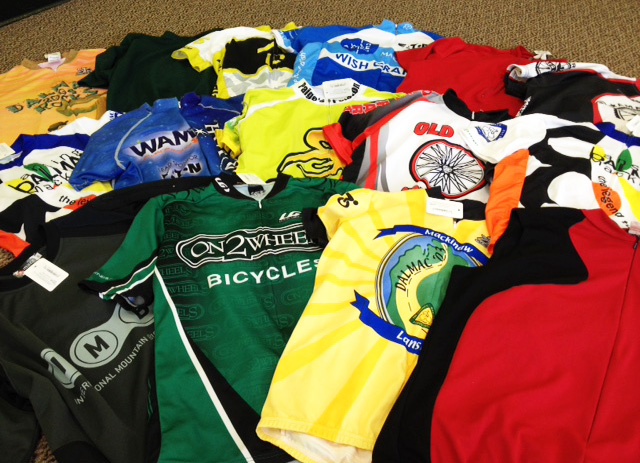 Jersey Trade-In Program at Hometown Bicycles