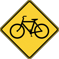 Bike Safety sign