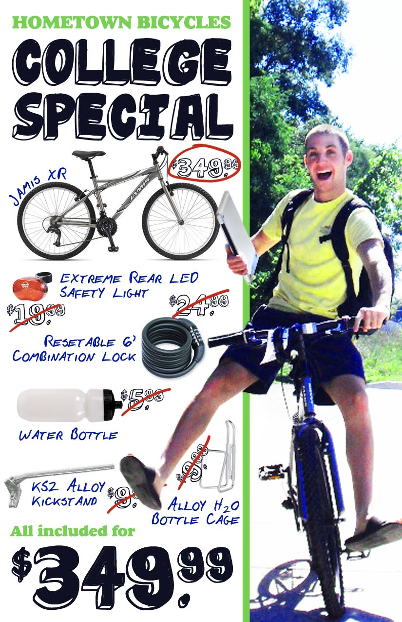 Hometown Bicycles College Special