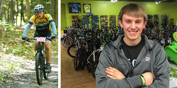 Hometown Bicycles service lead Andrew Jackson