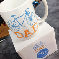 DAD bicycle mugs