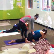 Dynamic Yoga with Ashley Knuth of Tocca Massage & Yoga at Hometown Bicycles