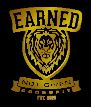 Earned Not Given Crossfit logo