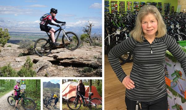 Hometown Bicycles Rides Coordinator Jean Steinberg